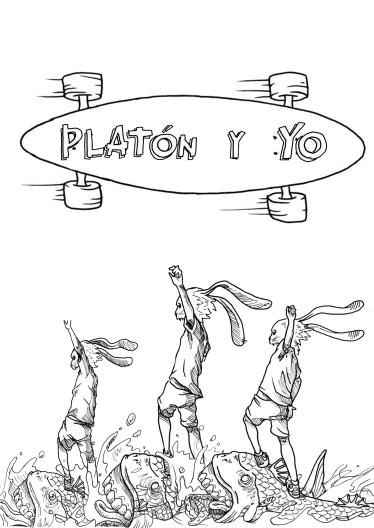 PLATON Y YO cartel